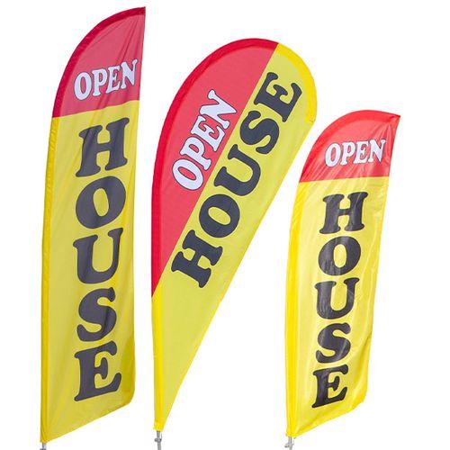 Open House Feather Flag Kit