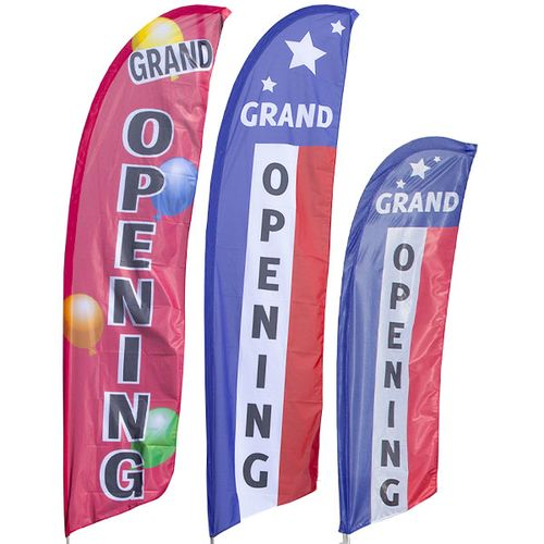 Grand Opening Feather Flag Kit