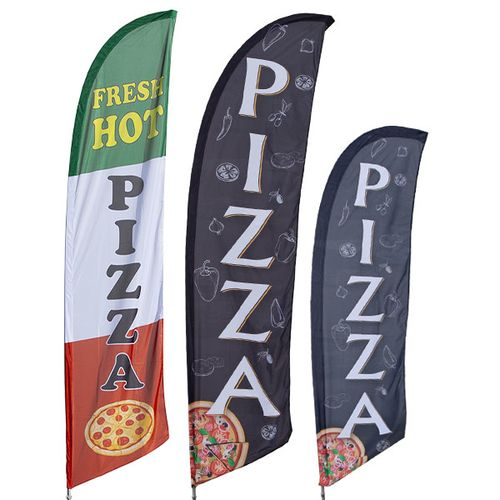 Pizza Feather Flag Kit
