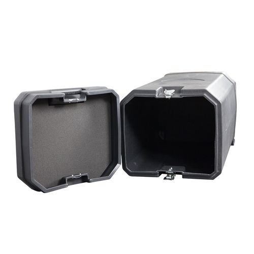 Case features foam padding on lid and bottom to protect your display