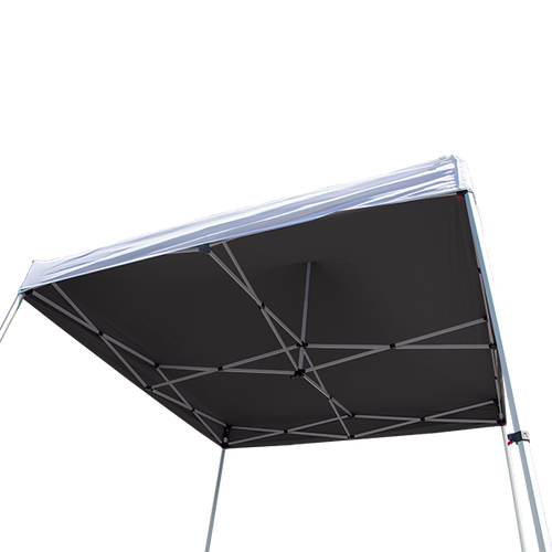 Opaque Inner Tent Liner blocks light from coming incompletely