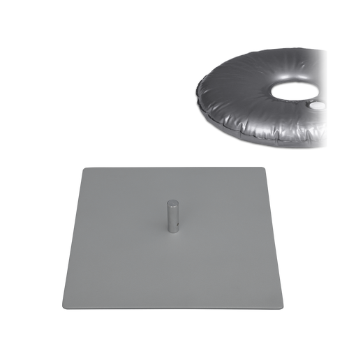 """Base Plate 12"""" x 12"""" with Thorn & Weight Bag 44lbs"""