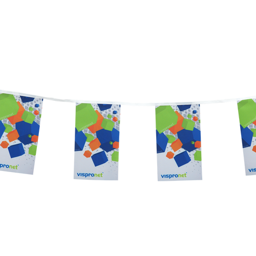 String pennants can come in a rectangle shape