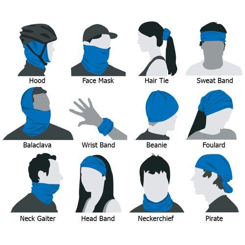 how to wear a neck gaiter