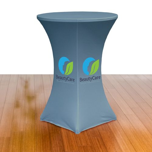 Cocktail Table w/ Stretch Table Cover