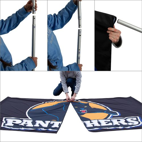 Breakaway Banners Assembly