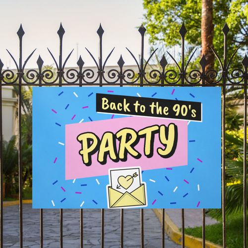 Corrugated Plastic Signs for party