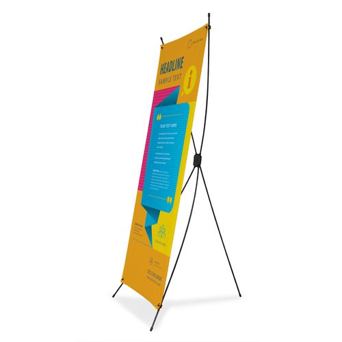 X-Banner Stand Standard display