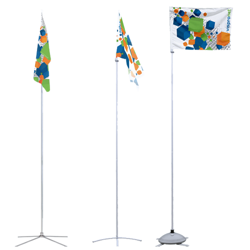 Without banner arm models need wind to be readable