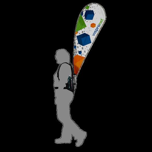 Backpack Teardrop Flag