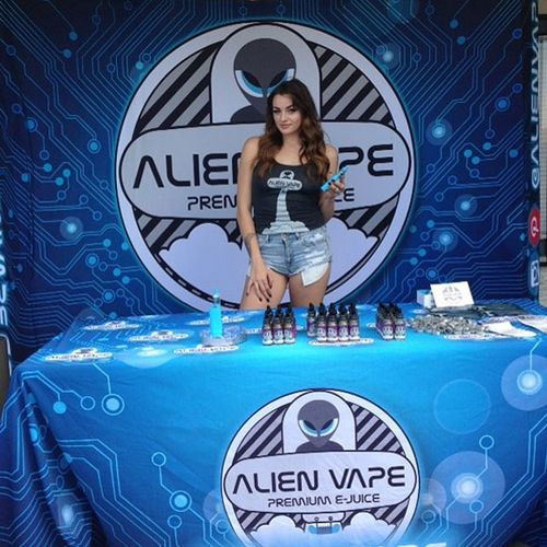 Pop Up Booth Display for Alien Vape