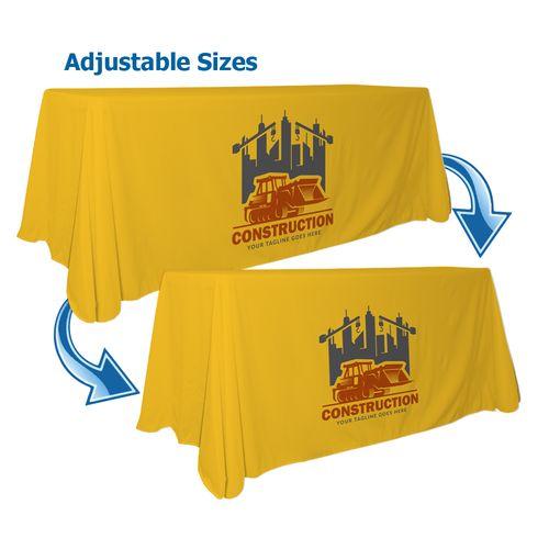 Logo Print Convertible Table Throw