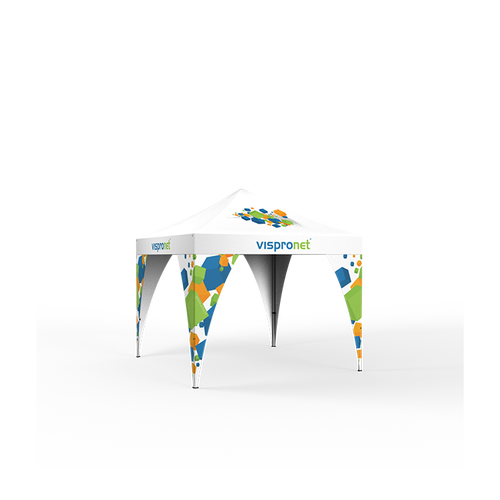 Pop Up Tent Leg Banners help you grab extra attention when attached to your tent