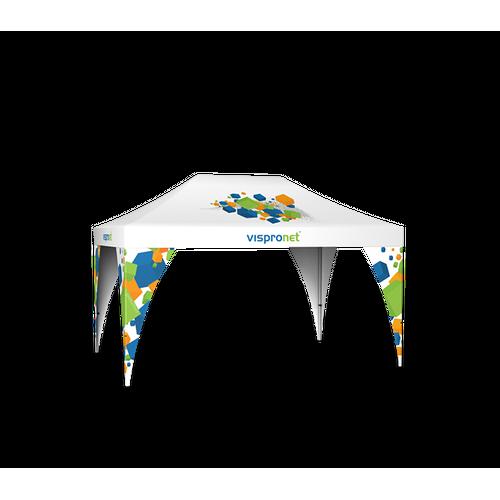 Medium Pop Up tent with 4 Pop Up Tent Leg Banners