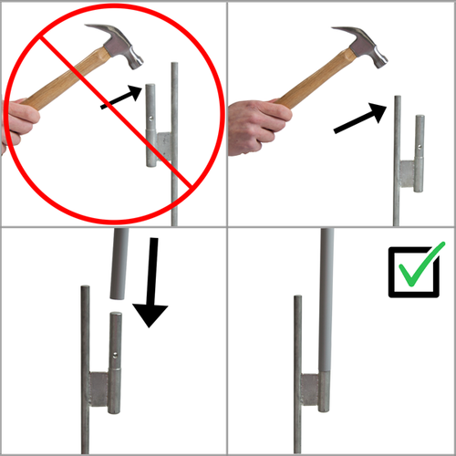Step-by-step guide on how to properly install your ground stake