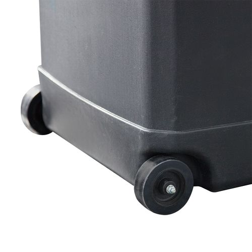 Rolling wheels allow you to take Hardcase Trolley Square with you wherever you go