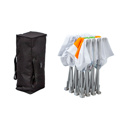 Carry bag included with hardware