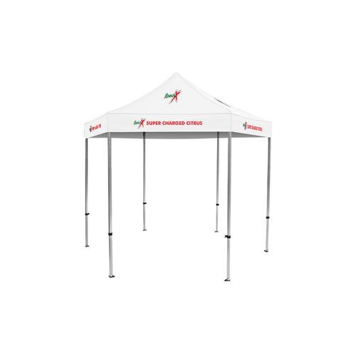 Pavilion Pop Up Tent Deluxe 10x10 w/ Logo Print