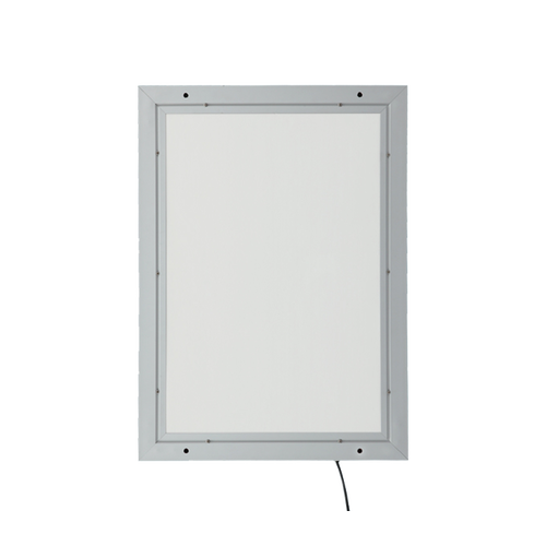 Holes drilled into frame to allow for easy mounting