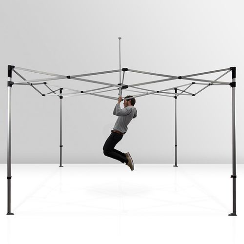 Tent frames are sturdy and can withstand frequent use