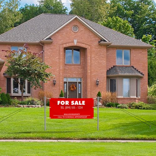 Perfect solution to advertise real estate for sale