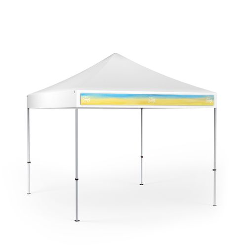 Removable Canopy Valance Banner