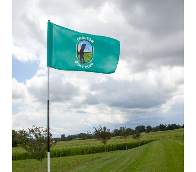 Custom Golf Flags Amp Putting Green Flags Vispronet